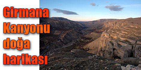 Girmana kanyonu turizme açılıyor