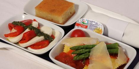 SunExpress'te özel yemekler