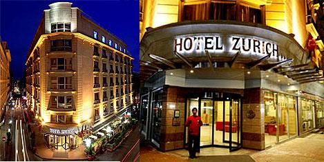 Hotel Zürich İstanbul kalitelendi