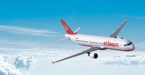 Atlasjet, 5 Mayıs'da İngiltere'de