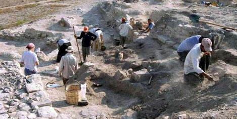Kilise Tepe'de kazı başladı