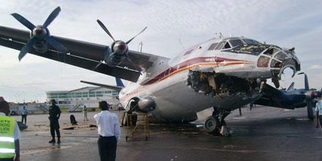 An 12'nin uçuşları yasaklandı