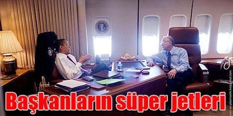 Devlet başkanlarının lüks jetleri