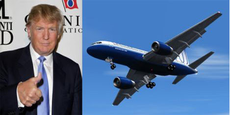 Trump'a 100 milyon $'lık uçak