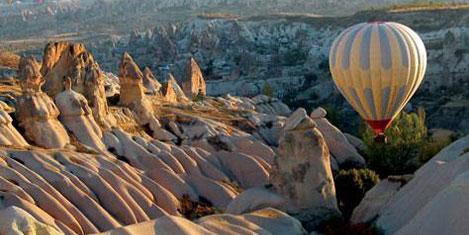 Kapadokya'nın tanıtımında THY