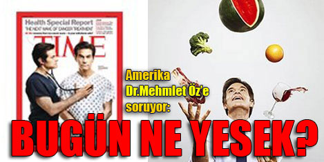 Mehmet Öz Time'a kapak oldu