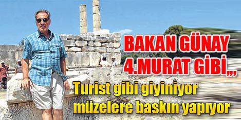 Müzeleri 4. Murad tarzı basıyor