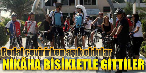 Bisiklet turu evlilik getirdi