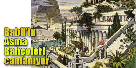 Babil kenti yeniden canlanıyor