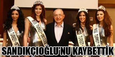 Özcan Sandıkçıoğlu'nu kaybettik