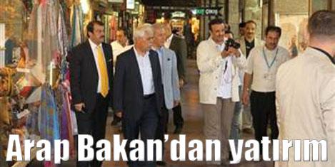 Arap Bakan'dan Bursa'ya yatırım