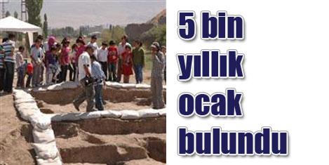 5 bin yılık seyyar ocak bulundu