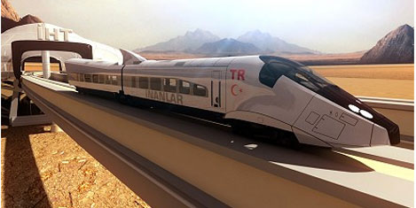 Marmara için İstanbul Hızlı Tren