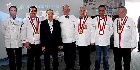 Avrupa'nın ünlü aşçıları İstanbul'da