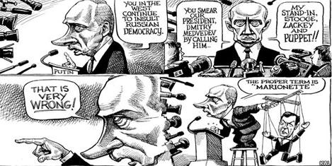 Putin Kremlin'e sorunlarla dönüyor