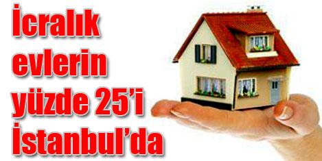 İcralık ev rekoru İstanbul'da