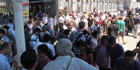 Ocak'ta 982 bin turist geldi