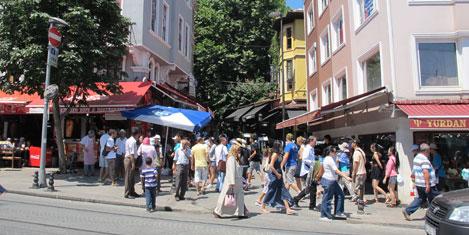İstanbul'da turist %17 arttı
