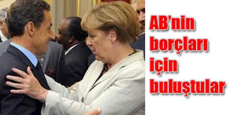 Merkel-Sarkozy görüştü