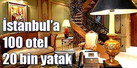 İstanbul'a 100 yeni otel geliyor