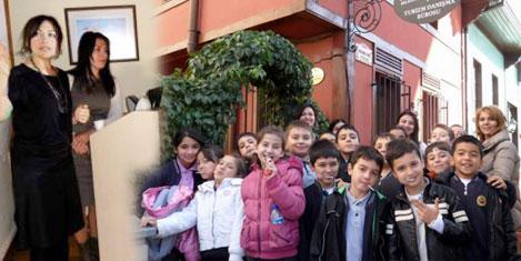 İlkokul öğrencileri turizmi öğreniyor