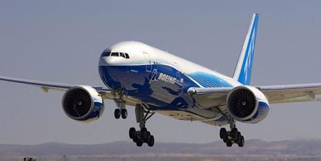 Boeing'ten 300'üncü 777-300ER