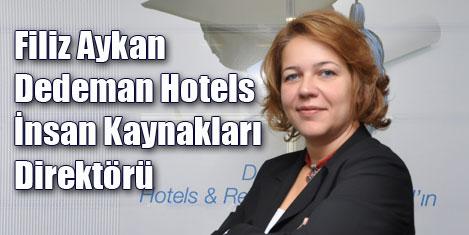 Filiz Aykan Dedeman Hotels'de