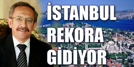 İstanbul'a gelen turist %16 arttı