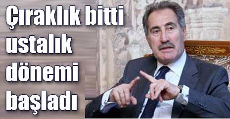 Antalya'da 'ustalık' sözü verdi