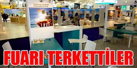 WTM'de Türkiye stantları boşaldı