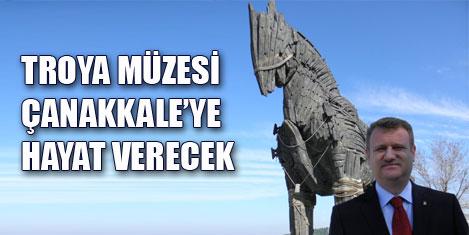 Troya Müzesi tanıtımda güç olacak