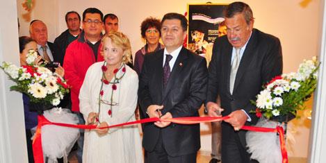 Turgutreis Keçe Sergisi açıldı