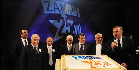 Zaman Gazetesi 25. yaşını kutladı