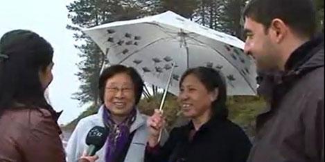 Çinli turistler Karadeniz'i sevdi