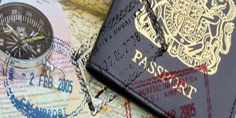 İngiltere'ye tek mektupla vize