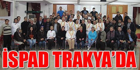 Trakyalı aşçılar İspad'a katıldı