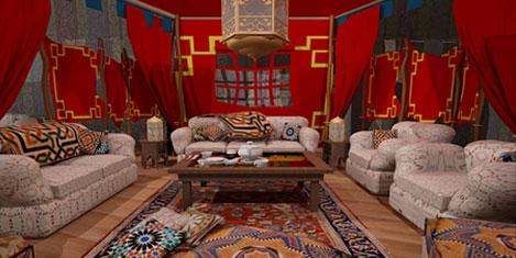 Araplardan 7 yıldızlı çadır otel