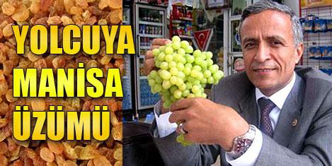 THY'da Manisa üzümü tanıtımı