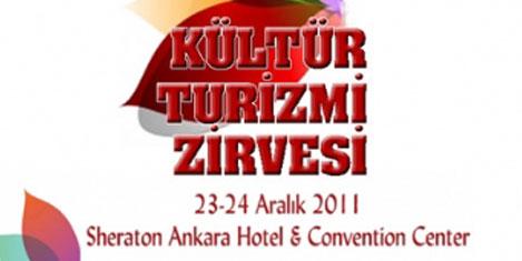 Kültür Turizmi Zirvesi'nde buluşma
