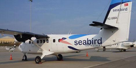 Seabird Havayolu denize iniyor