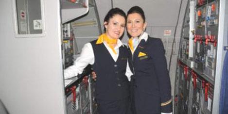 Lufthansa'da Türk hostesler