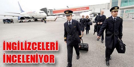 THY pilotlarına İngilizce inceleme