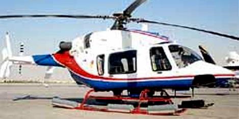 Bell 15 helikopter ihalesini aldı