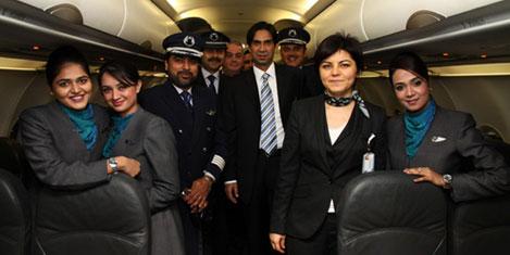 Airblue, İSG'den sefere başladı