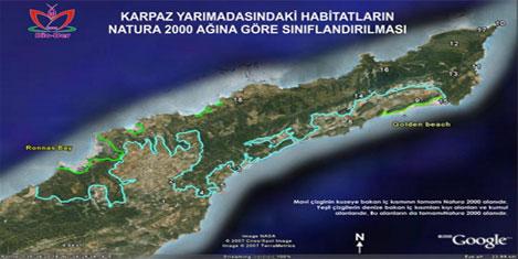 Karpaz'da kaçak yapılara mühür