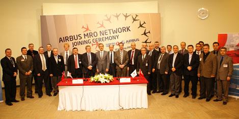 THY Teknik AŞ, Airbus MRO ağında