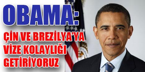 Obama: Turizm ABD için önemli