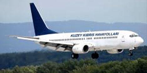 """Kuzey Kıbrıs Hava Yolları"""" uçuyor"""