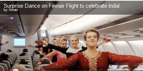 Finair'den Hindistan'a kutlama