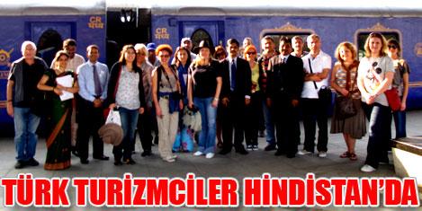 Türk turizmciler, Hindistan'da